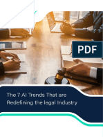 The 7 AI Trends That Are Redefining the Legal Industry