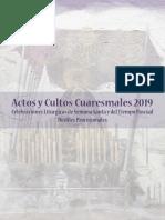 Programa Semana Santa Ayamonte 2019