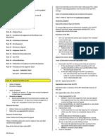 Civil Procedure Finals Notes