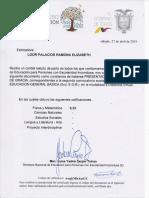 Certificados Examenes de Gracia