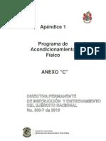 Entrenamiento Físico Ejército Nacional de Colombia.