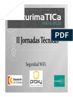 II Jornadas Técnicas- Seguridad Wifi