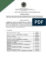 Edital 2018 2 Vestibular Tecnico Subsequente Vagas Remanescentes Resultado Final