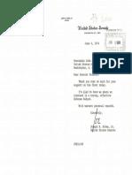 Biden/Stennis June1974 Letter