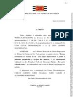 Aula 1 - Acórdão TJSP - Responsabilidade Pré-Contratual