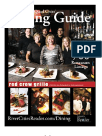 Quad Cities' Dining Guide Fall-Winter 2010