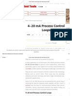 4-20 MA Process Control Loops _ DCS Control Loop _ Inst Tools