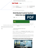 Distributed Control System Interview Questions _ DCS Engineer Questions