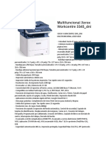 Multifuncional Xerox Workcentre 3345
