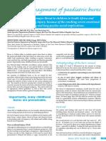 Modern Management of Paediatric Burn.pdf