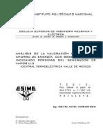 Análisis de la valoración económica y ahorro de energÃ_a, con base exergética, indicando pérdidas .pdf