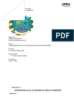 PRACTICA N° 3 - Determinacion de CO2-convertido