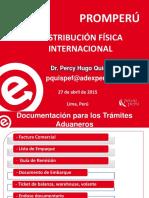 Documentación para los trámites aduaneros - TALLER LOGISTICA2.pdf
