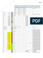 Color theory and useful colors (GDocs spreadsheet PDF print)