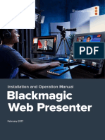 Blackmagic Design Web Presenter 1