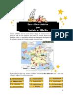 Les Villes Visitées Par Astérix Et Obélix (Texte Corrigé)