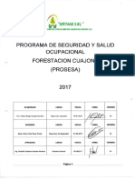 Prosesa Sertaad Forestacion 2017