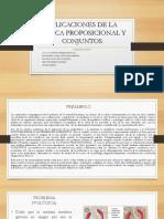 Aplicaciones de La Lógica Proposicional y Conjuntos