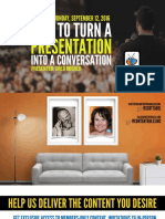 Three Ways to Turn Your Presentation Into a Conversation