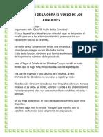 RESUMEN DE LA OBRA EL VUELO DE LOS CONDORES.docx