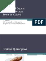Herida Quirurgica, Herida Infectada, Cultivo