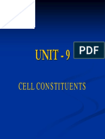Cell Constituents