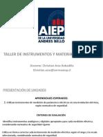 Clase # 8.1 Electronica Taller de Instrumentacion y Materiales Electricos AIEP 2019