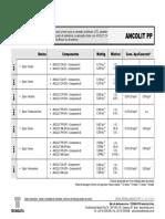 Tecnolita - Espec Primer PP EP5