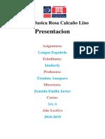 Escuela Basica Rosa Calcaño Lino