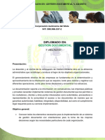 Diplomado en Gestion Documental 2019