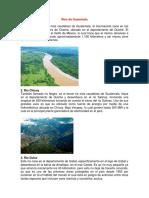 Ríos de Guatemala y lagos y tecnica de observacion, sensibilidad.sinceridad.docx