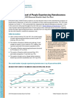 Wilder Foundation Research - Homelessness Factsheet 2018