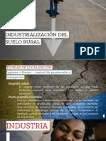 Industrialización Rural