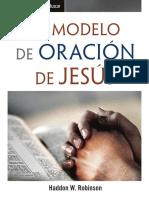 Modelo de oración de Jesus