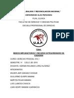 MEDIOS IMPUGNATORIOS Y RECURSO EXTRAORDINARIO DE CASASION.docx