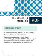 1.1.1 Historia de La Panadería