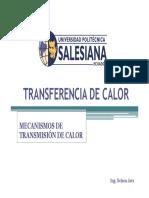 Transferencia de Calor - Generalidades