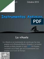 Instrumentos Antiguos