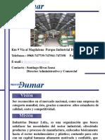 Presentación Industrias Dumar Ltda