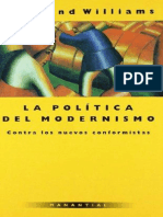Williams, Raymond - La Política del modernismo.pdf