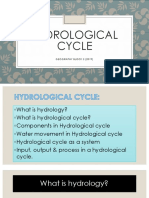 Hydrological Cycle Notes