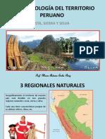Morfologia de La Costa,Sierra Selva
