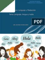 Lenguaje, Lengua y Habla-convertido