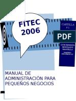 Manual de administración para pequeños negocios