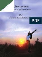 Swami Satchidananda - Afirmaciónes para la paz interior SUBRAYADO
