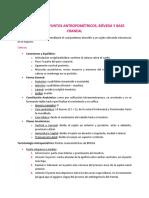 Tema 1 y 2 - Planimetria y Puntos Antropometricos