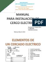 Manual Para Cerco ELECTRICO