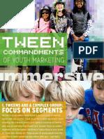 Tween Commandments of Content Youth Marketing