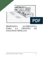 5. Propuesta Para La Crianza Alternativa de Gallinas Criollas