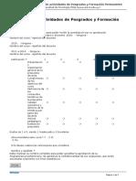 Facultad de Psicologia - Evaluacion de Actividades de Posgrados y Formacion Permanente - 2016-03-10